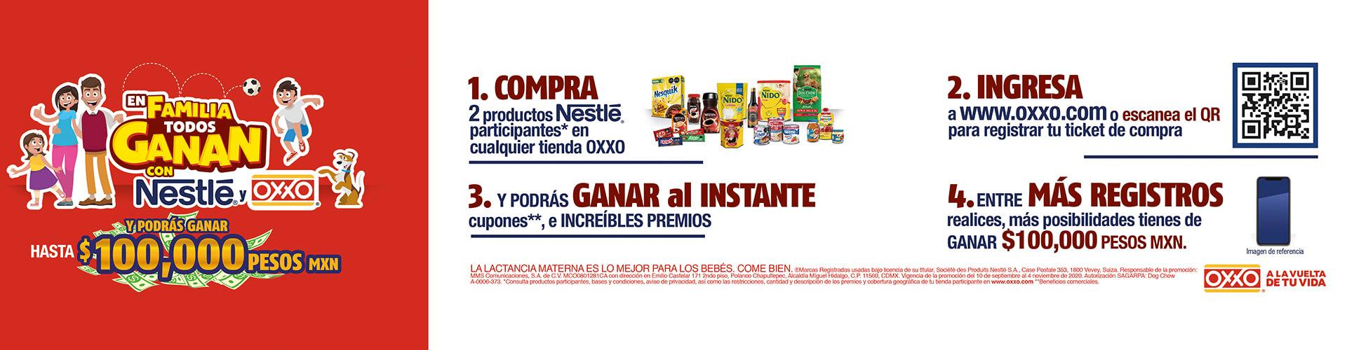OXXO Home Nestlé Familia P11 2020