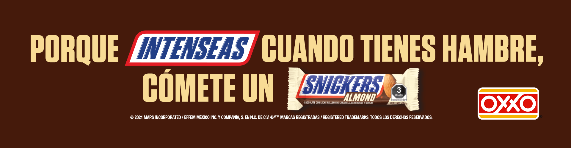 OXXO Home Cupones snickers 2021