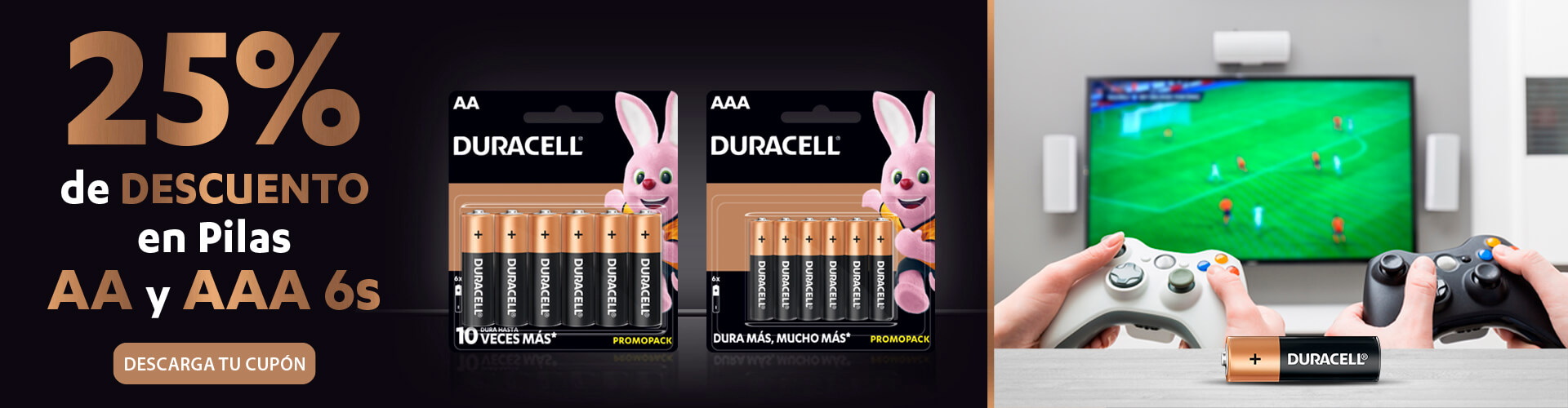 OXXO Promociones Pilas Duracell P6 2021