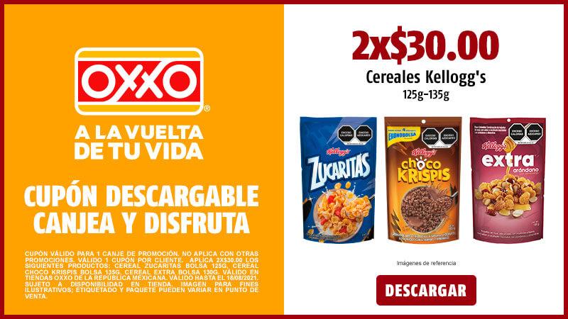 Cupon P8 2021 2X30 Cereales Kelloggs