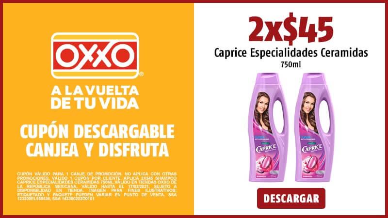 Cupon 2x$45 Caprice Especialidades Ceramidas 750ml