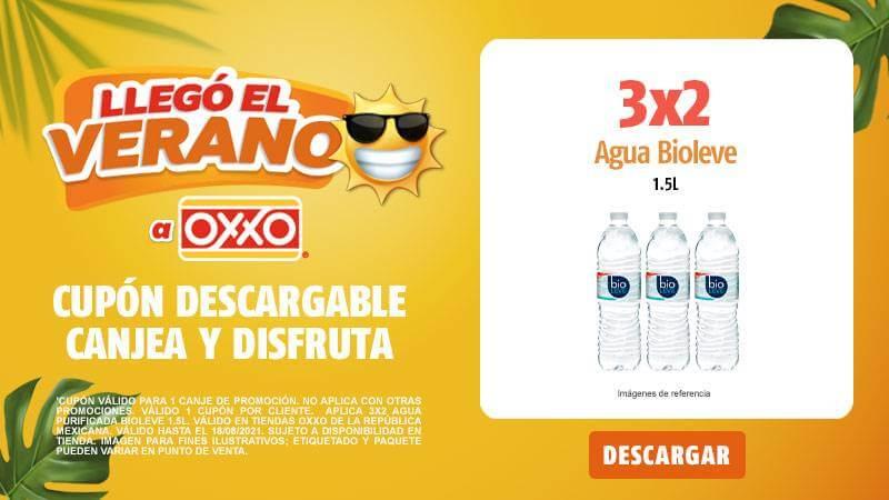 Cupon P8 2021 3x2 Agua Bioleve