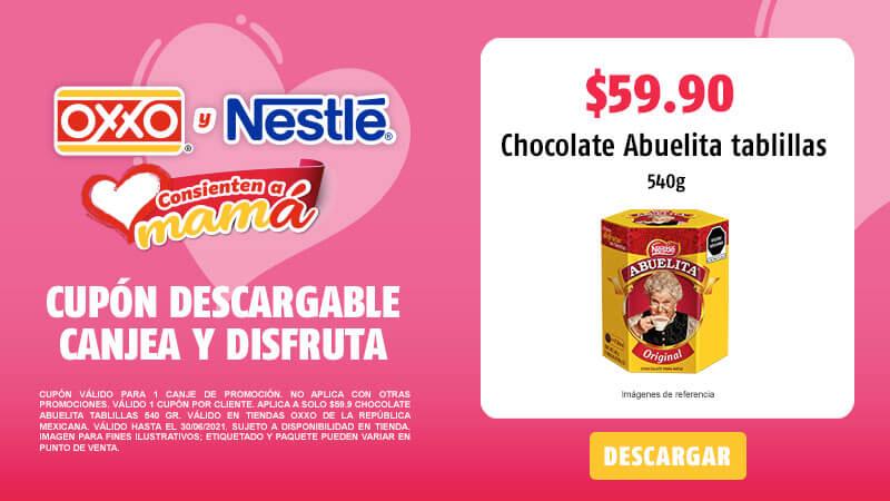 Cupon A solo $59.9 Chocolate Abuelita Tablillas 540 gr