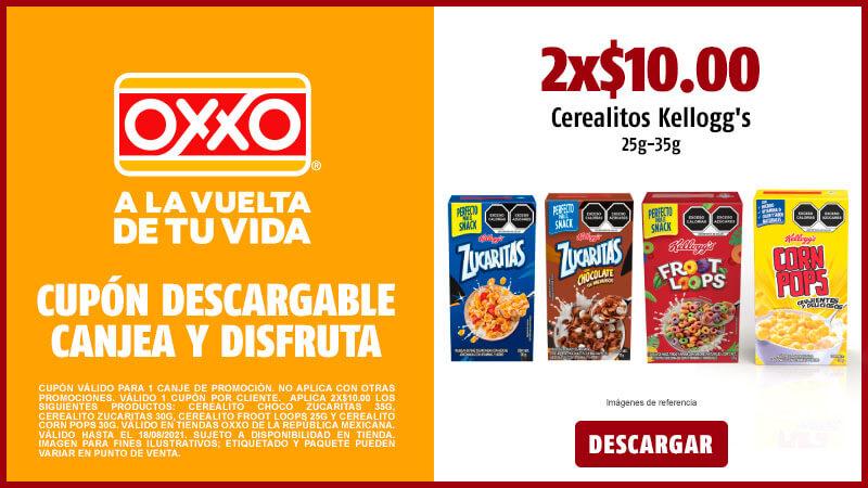 Cupon P8 2021 2X10 Cerealitos Kelloggs