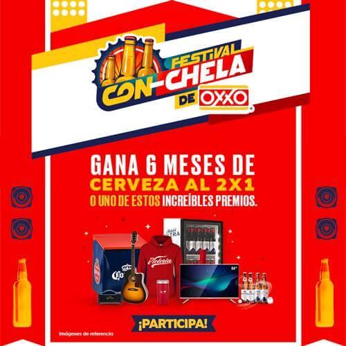 OXXO Cupones Modal  Festival Con Chela P9 2021