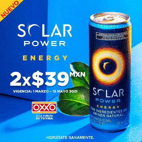 OXXO Pop Up Solar Power Cupones P5 2021