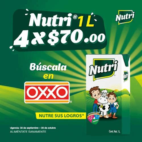 OXXO Promociones Modal Nutrileche P10 2021