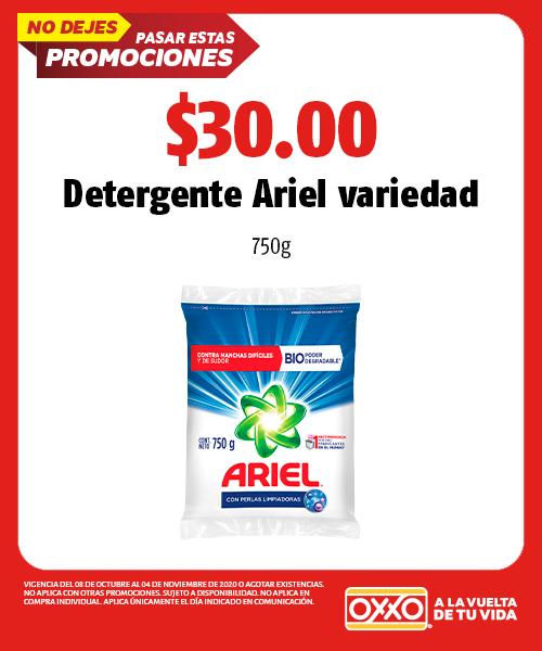 Detergente Ariel Variedad