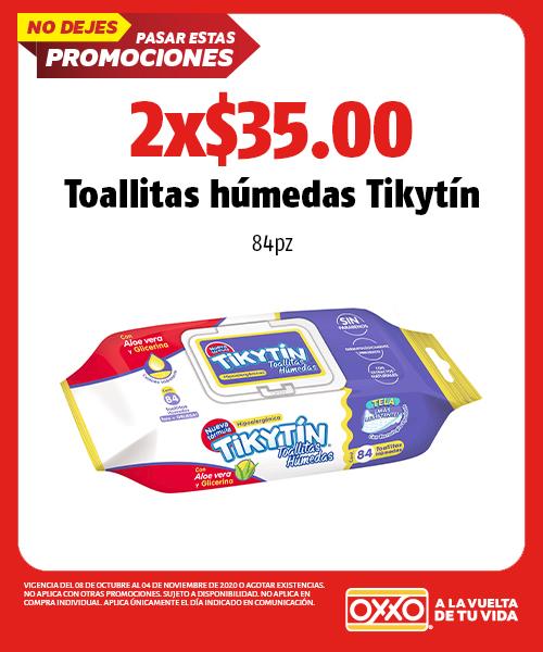 Toallitas Húmedas Tikytin