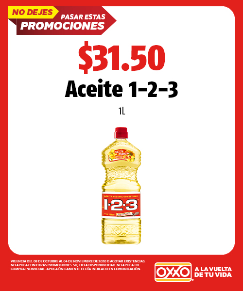 Aceite 1-2-3