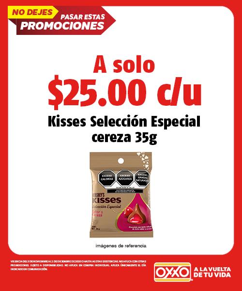Kisses Selección Especial Cereza 35gr