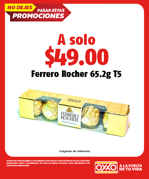 Ferrero Rocher 65.2g T5