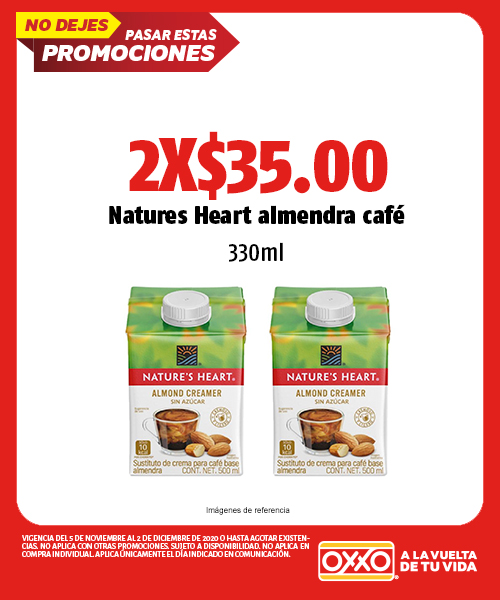 NATURES HEART ALMENDRA CAFE