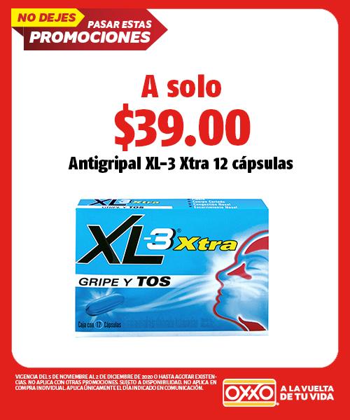 Antigripal XL-3 Xtra 12 Cápsulas