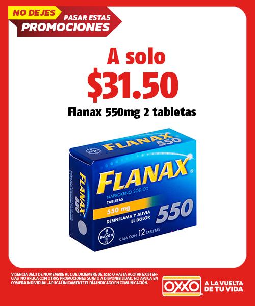 Flanax 550mg 2 Tabletas