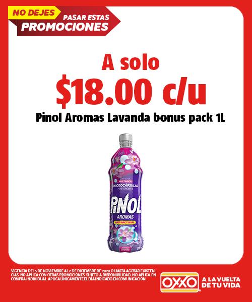 Pinol Aromas Lavanda Bonus Pack 1 Lt