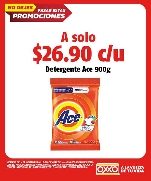 Detergente Ace 900grs