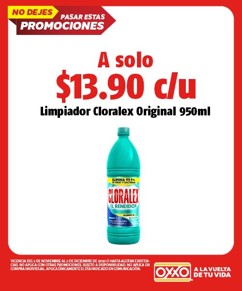 Limpiador Cloralex Original 950ml