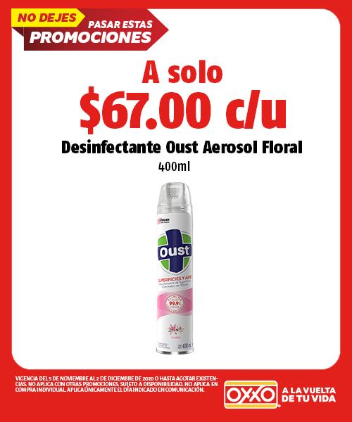Desinfectante Oust Aerosol Floral