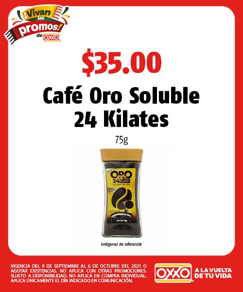 Café Oro Soluble 24 Kilates