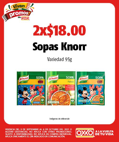 Sopas Knorr