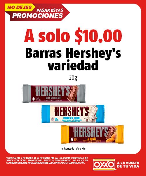 Barras Hersheys