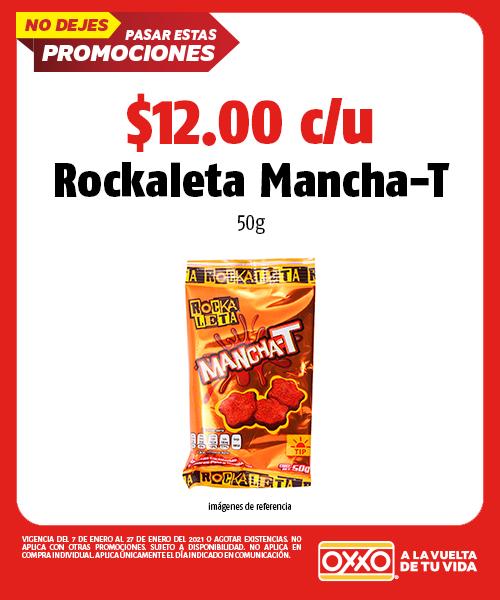 Rockaleta Mancha T