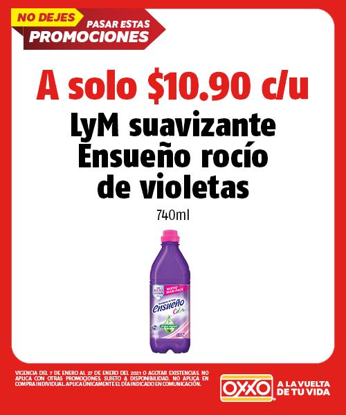 LyM Suavizante Ensueño Rocio de Violetas