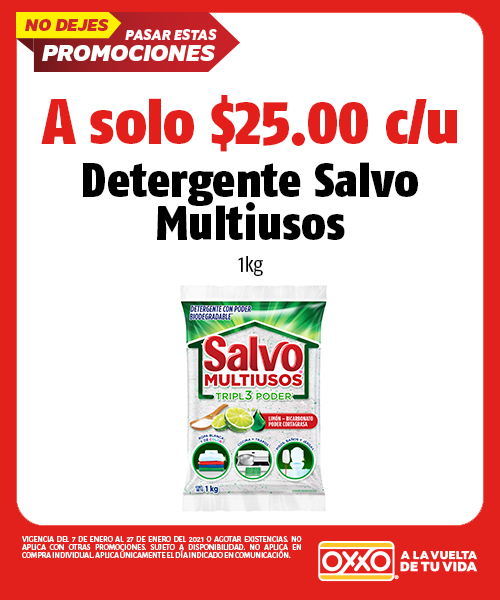 Detergente Salvo Multiusos