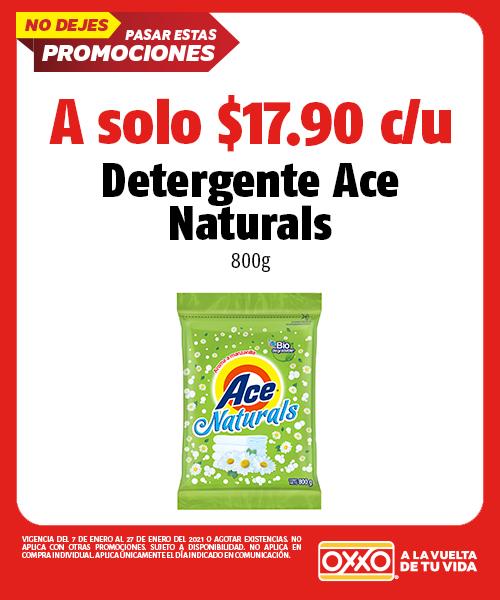 Detergente Ace Naturals 800gr