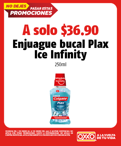 Enjuague Bucal Plax Ice Infinity