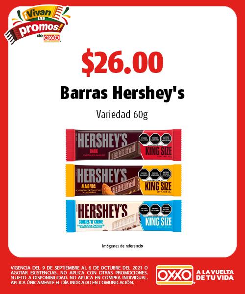 Barras Hershey's