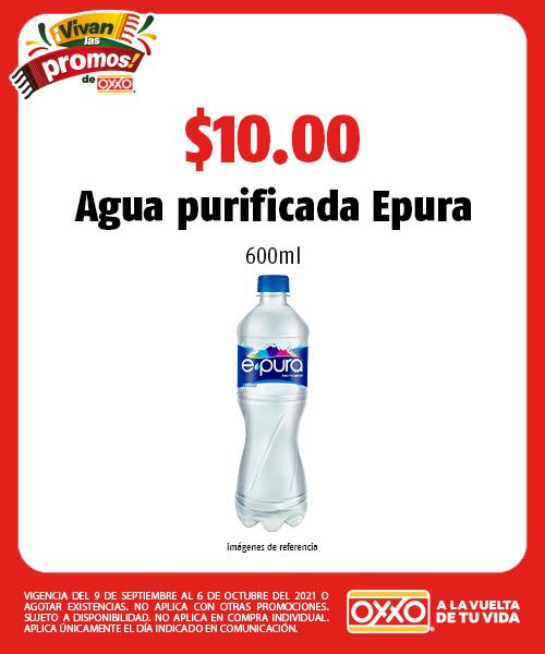 Agua purificada Epura