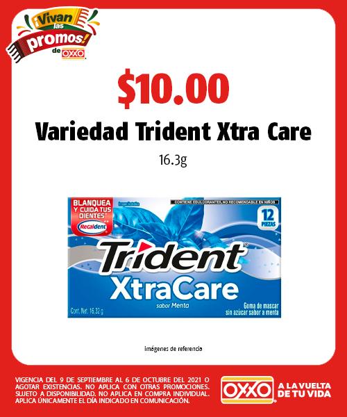 Variedad Trident Xtra Care