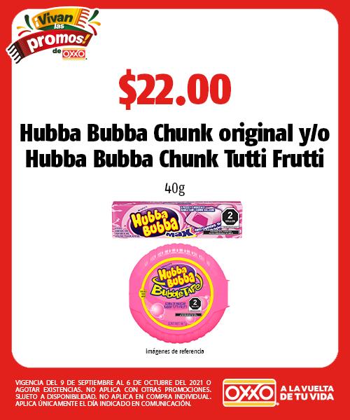 Hubba Bubba Chunk original yo Hubba Bubba Chunk Tutti Frutti