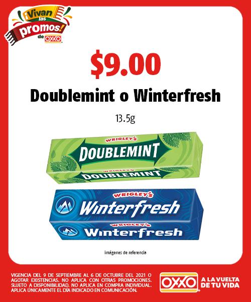 Doublemint  o Winterfresh