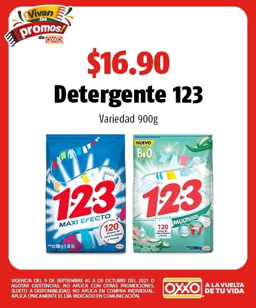 Detergente 123