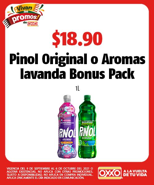 Pinol Original o Aromas lavanda Bonus Pack