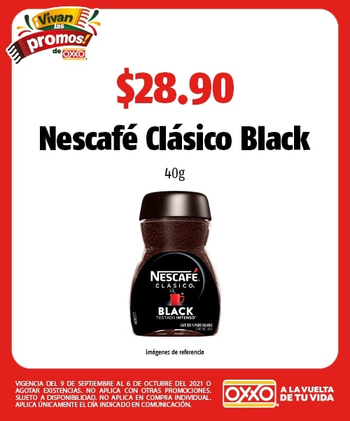 Nescafé Clásico Black