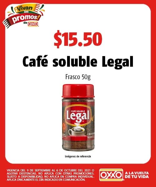Café soluble Legal