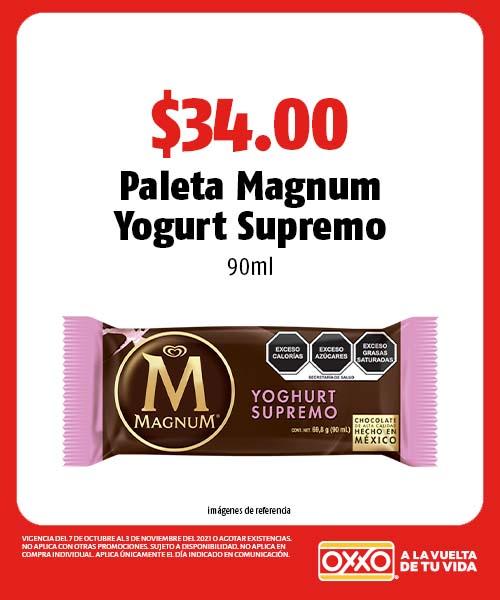 Paleta Magnum Yogurt Supremo