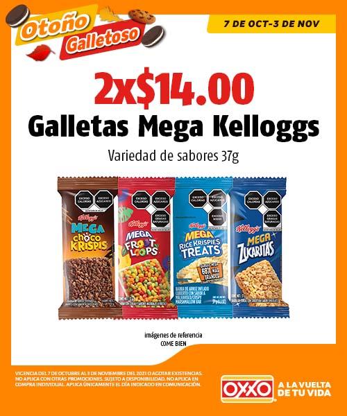 Galletas Mega Kelloggs