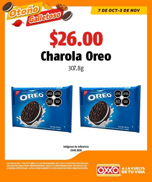 Charola Oreo