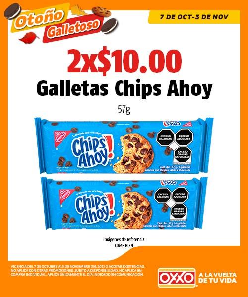 Galletas Chips Ahoy