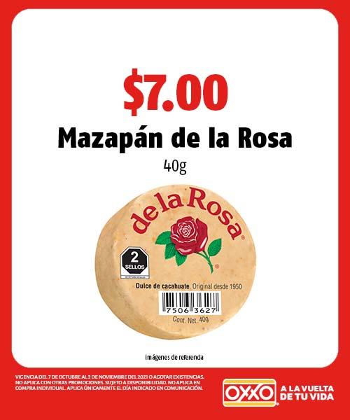 Mazapán de la Rosa