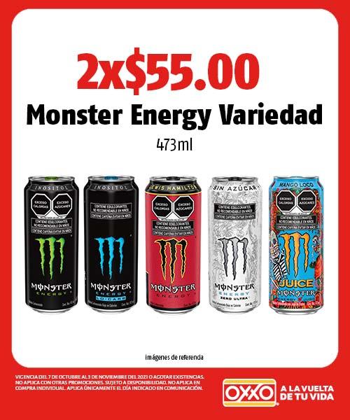 Monster Energy Variedad
