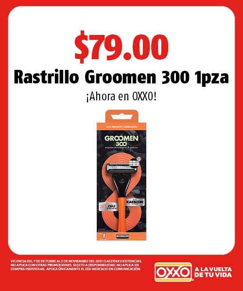 Rastrillo Groomen 300 1pza