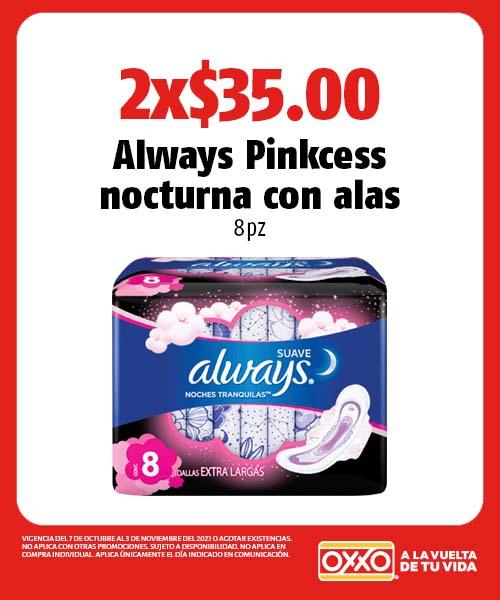 Always Pinkcess nocturna con alas