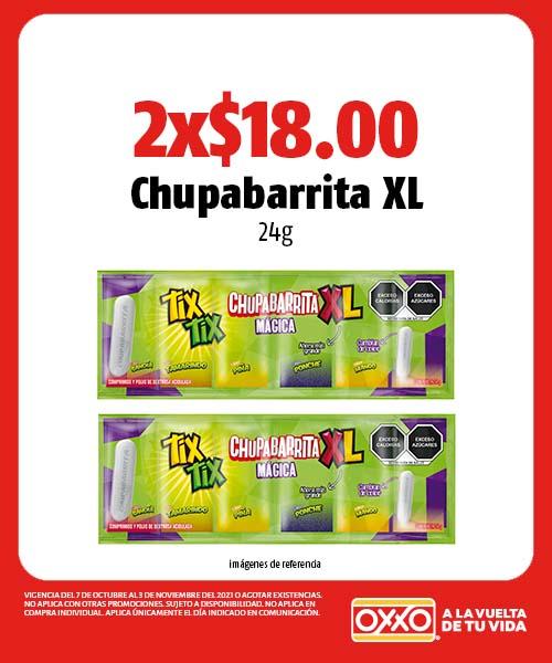 Chupabarrita XL