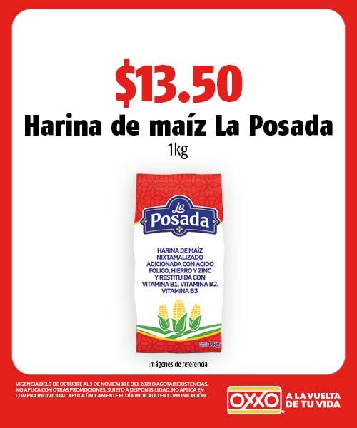 Harina de maíz La Posada